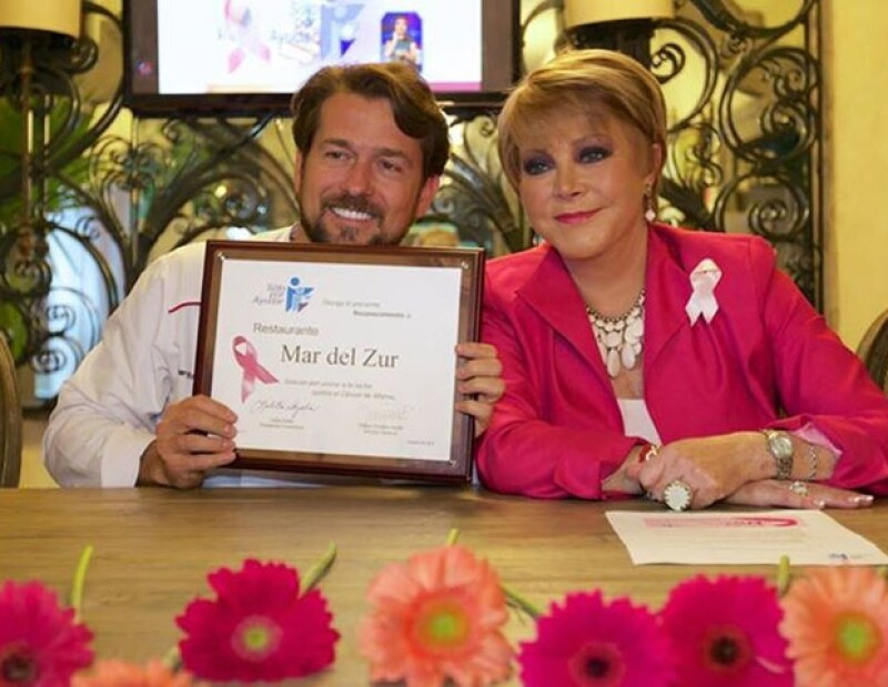 Eduardo Palazuelos con Lolila Ayala.