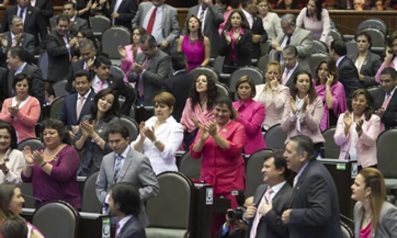 El Pleno de San Lázaro aprobó esta madrugada el dictamen de reforma hacendaria. (Foto: Notimex)