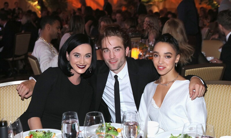 Robert Pattinson, Katy Perry y FKA Twigs