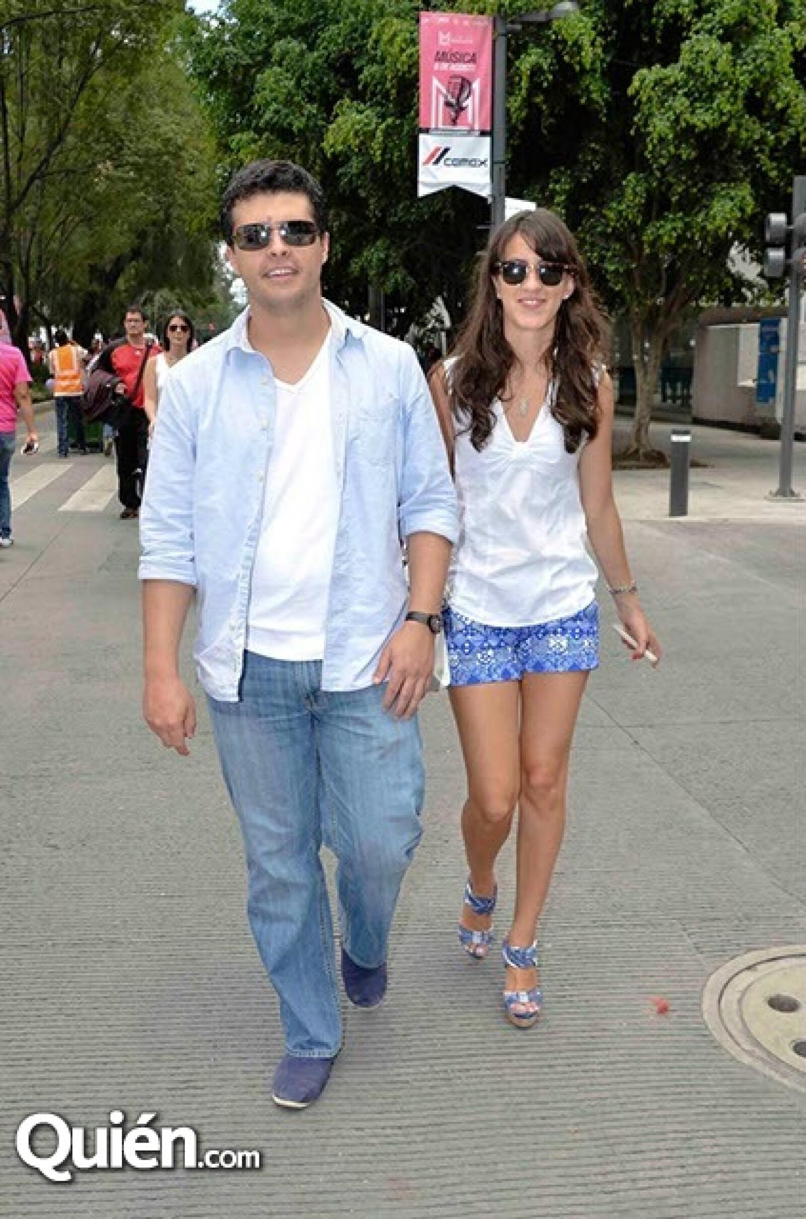 Rodrigo Fernández y Alessia Tavano.