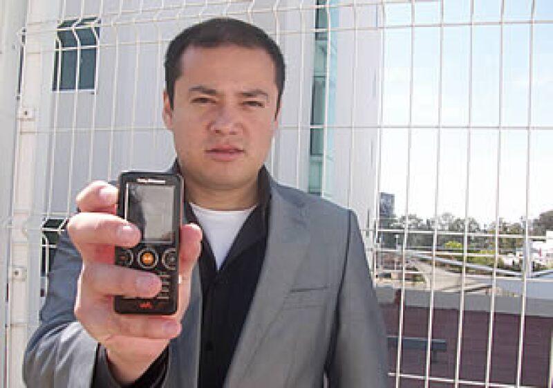 Ricardo Ceballos lanzó su primera versión del videojuego para Iusacell. (Foto: Cortesía)