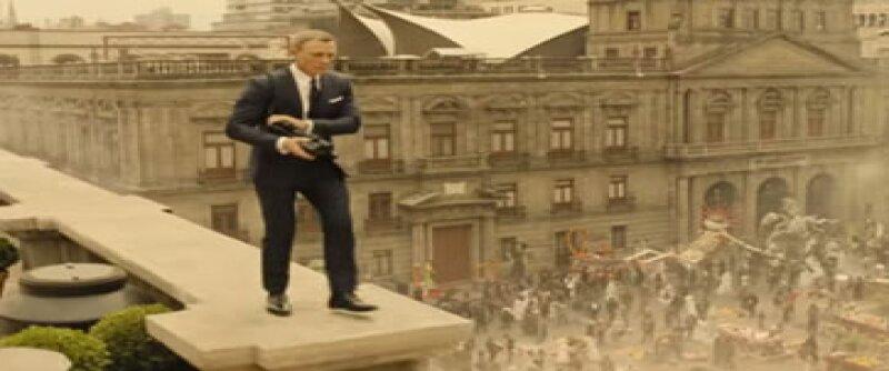 Finalmente se reveló el avance de la famosa película del espía inglés, en el que podemos ver las escenas que el actor Daniel Craig filmó en nuestro país.