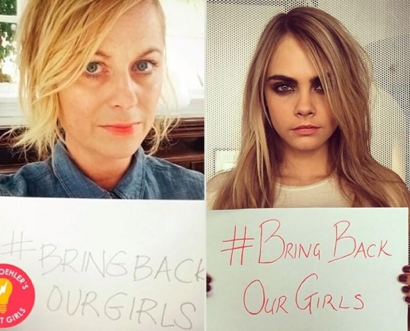 Amy Poehler y Cara Delevingne compartieron estas imágenes en su Instagram.