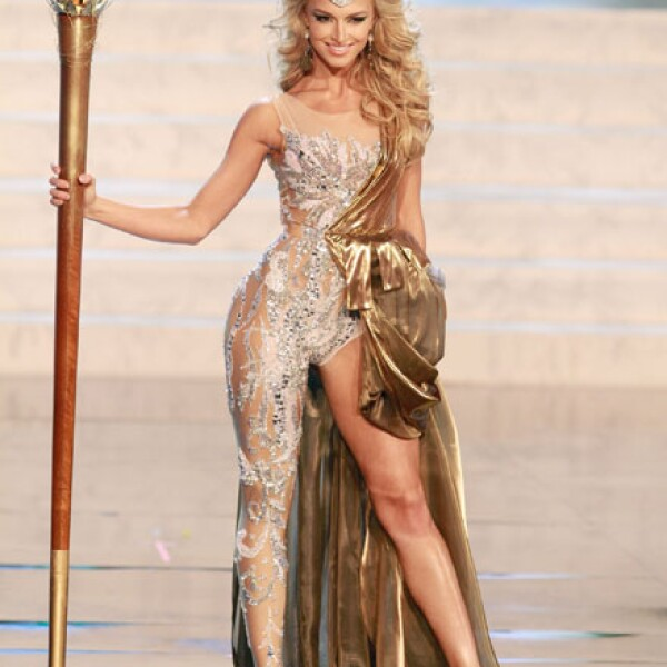 Miss Turquía, Cagil Ozge Ozkul.