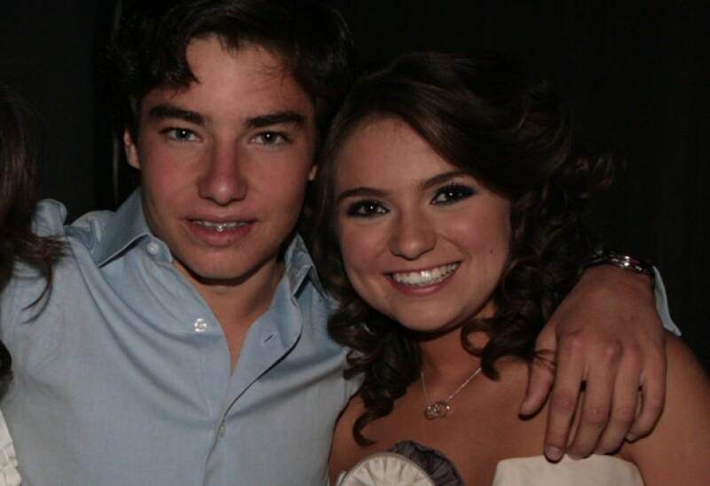 La joven pareja inició su romance en 2010.