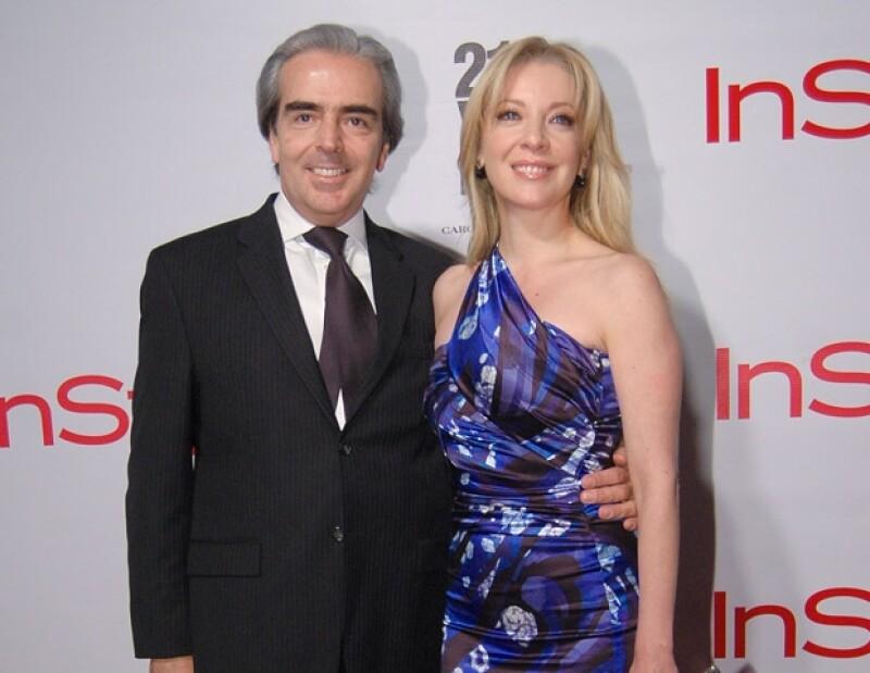 Edith González considera que su esposo, Lorenzo Lazo, es un hombre que la ha apoyado.