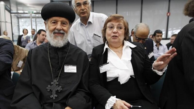 nadia eweida y obispo aghanasios canepa