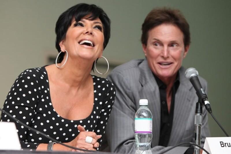 Kris y Bruce se casaron sin firmar contrato prenupcial.