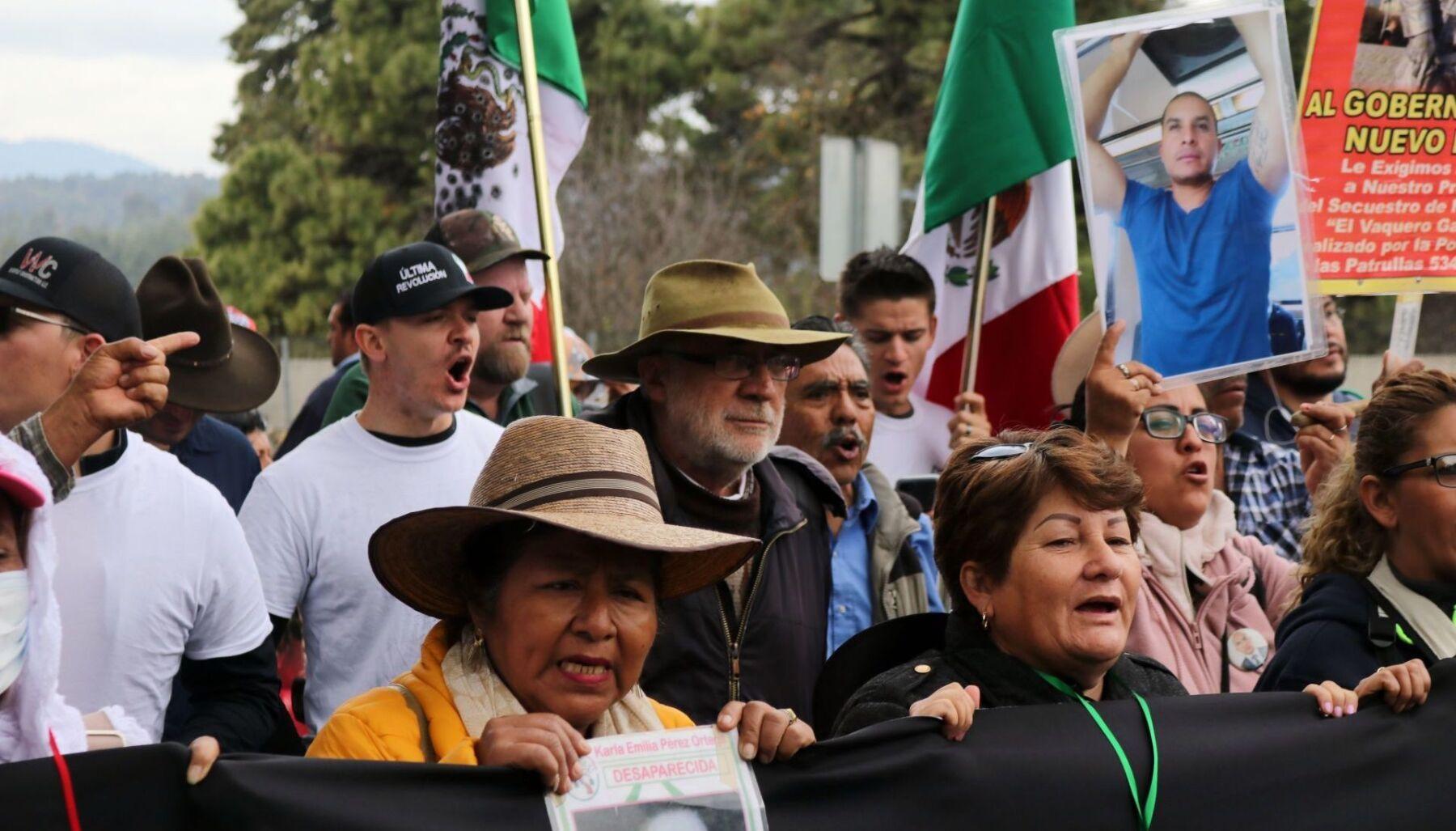 Llama Adrián LeBarón a ciudadanos de México y Estados Unidos a movilizarse en respaldo a la Caminata