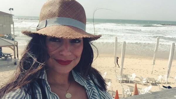 La actriz viajó a Texas para celebrar con su familia el día de la independencia de Estados Unidos.