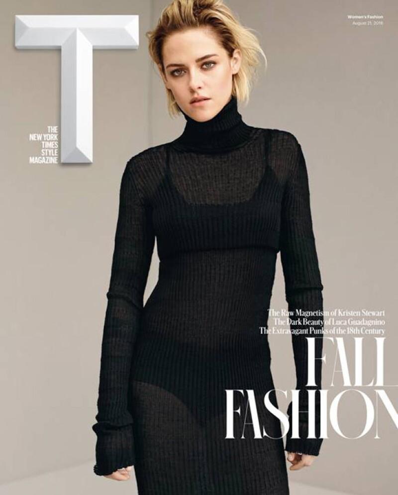 Kristen para T Magazine.