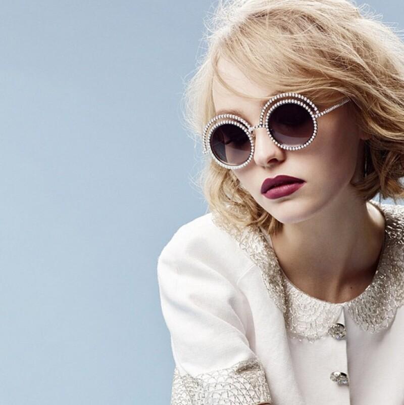 La joven de 16 años ha iniciado una prometedora carrera en el modelaje.