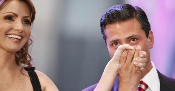 Angélica Rivera y Enrique Peña Nieto planean casarse en 2010.