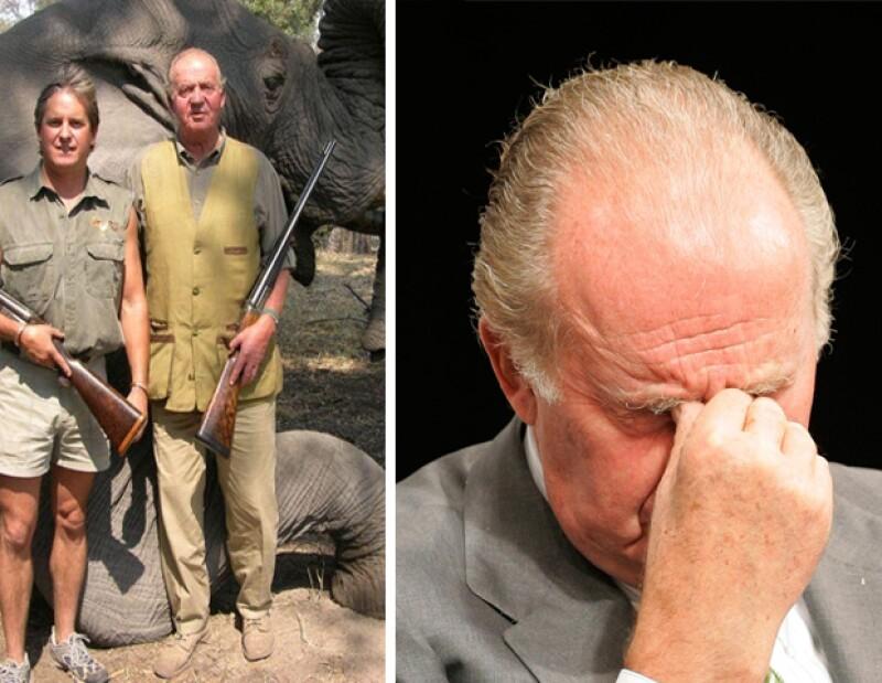 Después de salir del hospital, debido a una operación de cadera, el monarca pidió perdón por su tan controversial viaje a Bostwana donde aparece posando con un elefante muerto.