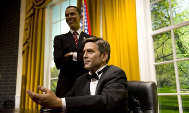 La fiesta dio al presidente el tipo de resonancia hollywoodesca que los republicanos no suelen conseguir. (Foto: AP)