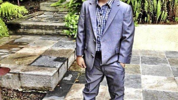 Alonso Mateo- El pequeño de 5 años tiene un estilo inigualable. Su gusto por la ropa lo ha sacado de su papá a quien lo admira y piensa que es el más cool.