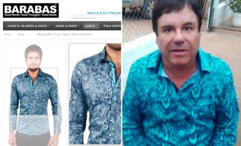 Las camisas están a la venta en Internet y Los Ángeles.