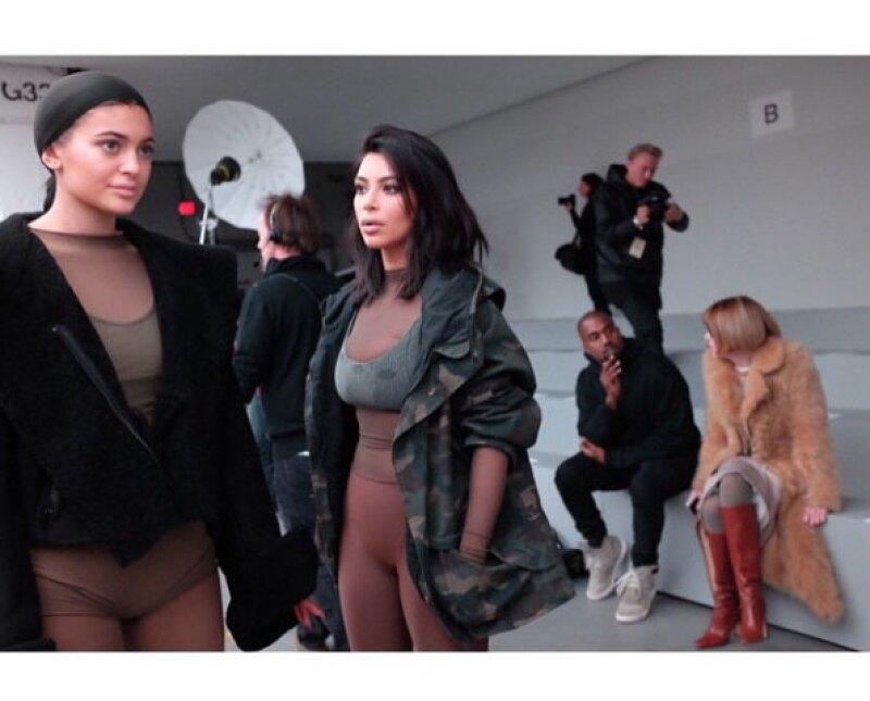 En su Instagram, la menor de las Jenner agradeció por la oportunidad.