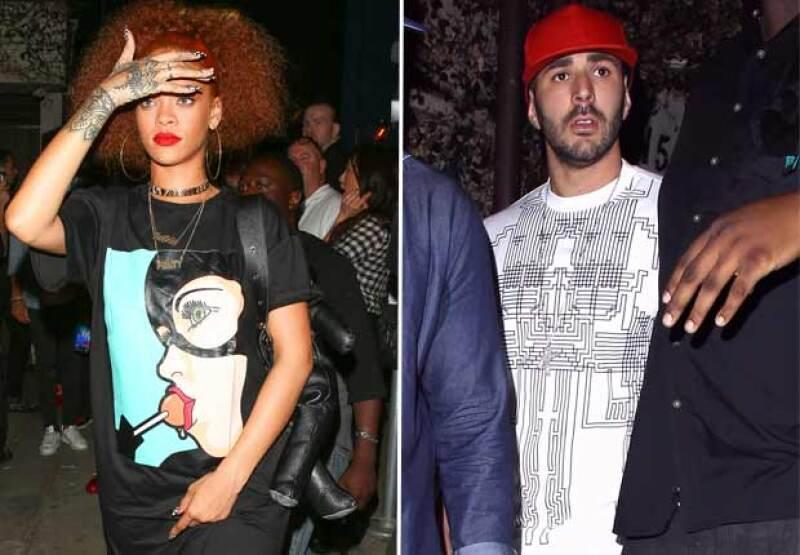 La cantante y el futbolista fueron nuevamente vistos juntos en Santa Monica, a una semana de haber sido fotografiados desayunando juntos en Nueva York.