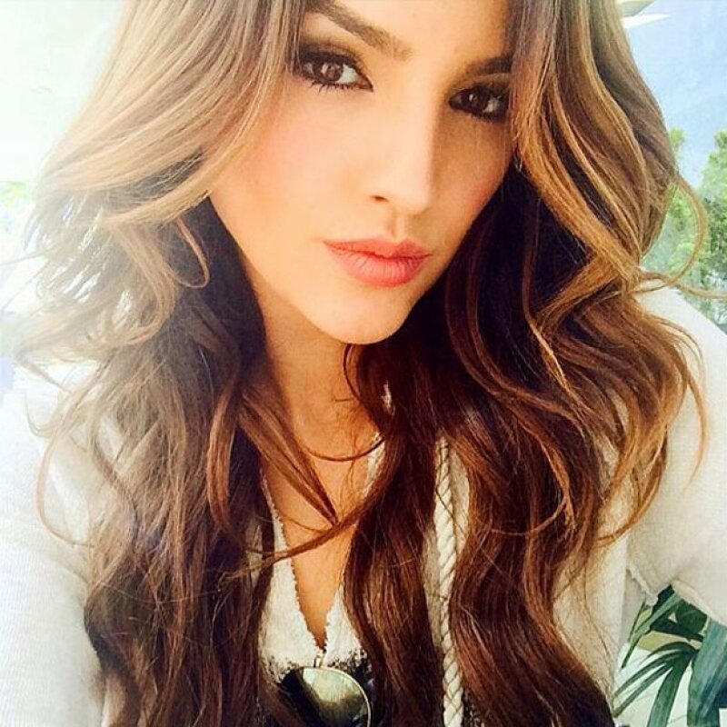 Luego de que circulara una supuesta grabación de la actriz teniendo relaciones sexuales con un joven, fue ella misma quien lo desmintió probando que se trata de una actriz colombiana.