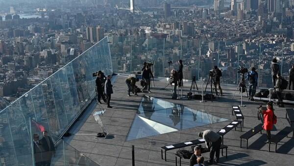 Así es la terraza más alta de Nueva York.