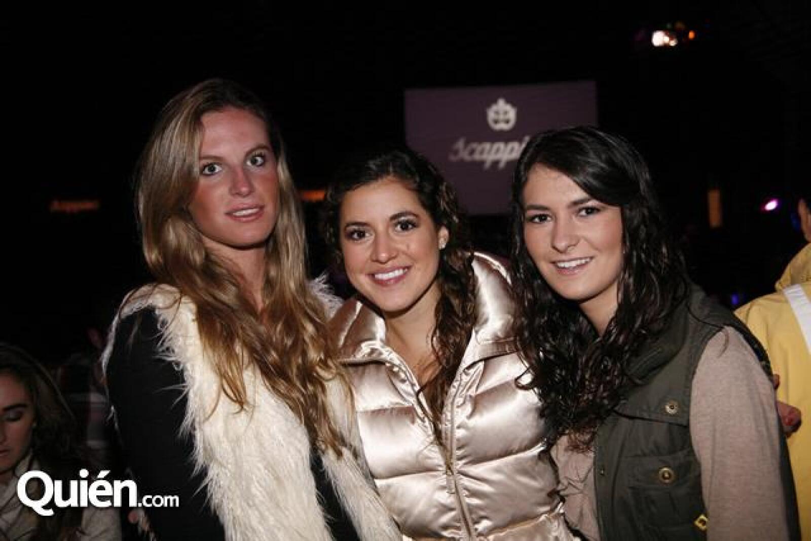 Maite Solana,Pamela González,Patricia Albín
