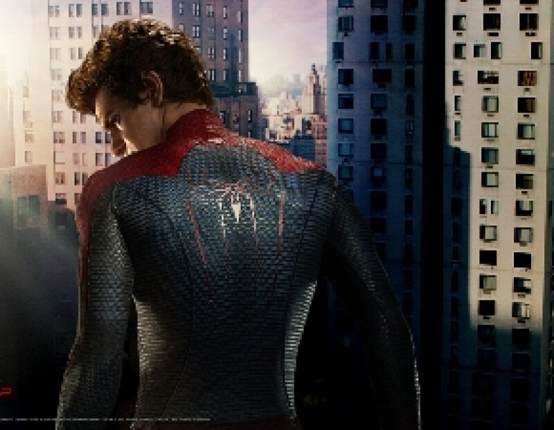 Andrew Garfield como Spider Man
