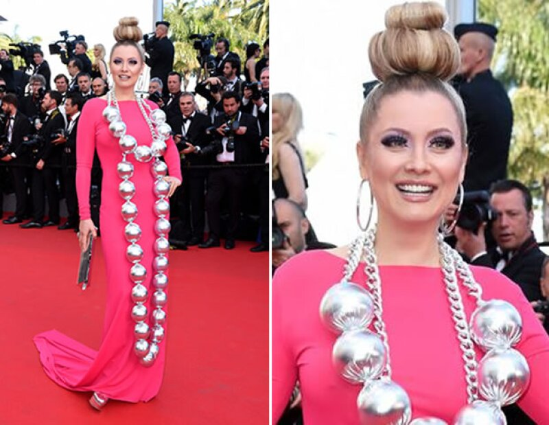 Elena Lenina en Cannes.