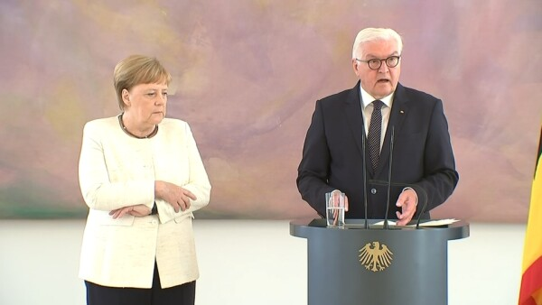 Angel Merkel sufre temblores por segunda vez