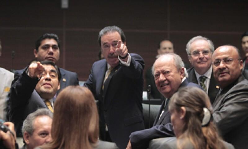 Ayer jueves, el Senado aprobó en lo general la Ley de Hidrocarburos. (Foto: Notimex)