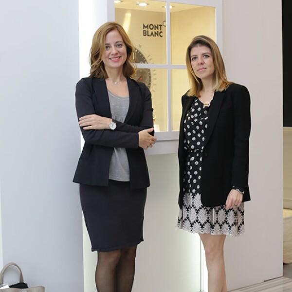 Stephanie Martínez y Lorena Rodíguez