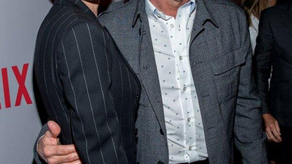 La actriz amenazó a los productores de la serie con hacer pública su situación si no igualaban su salario al de Kevin Spacey.