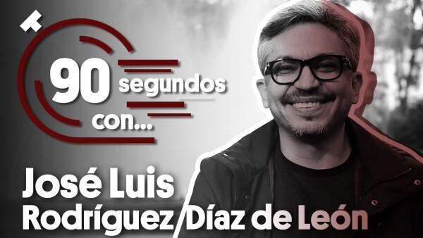 #90SegundosCon| José Luis Rodríguez
