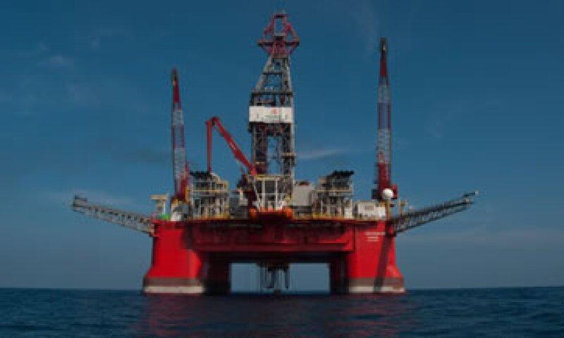 La plataforma petrolera PetroRig III o Centenario en Veracruz, al oriente de México (Foto: Cuartoscuro/Archivo )