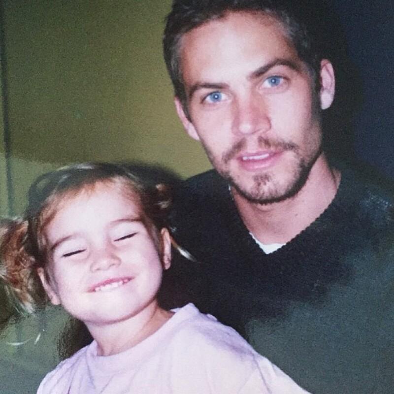 Esta no es la primera vez que Meadow comparte fotos con su padre, pero sí la primera en la que ella ya no es una bebé.
