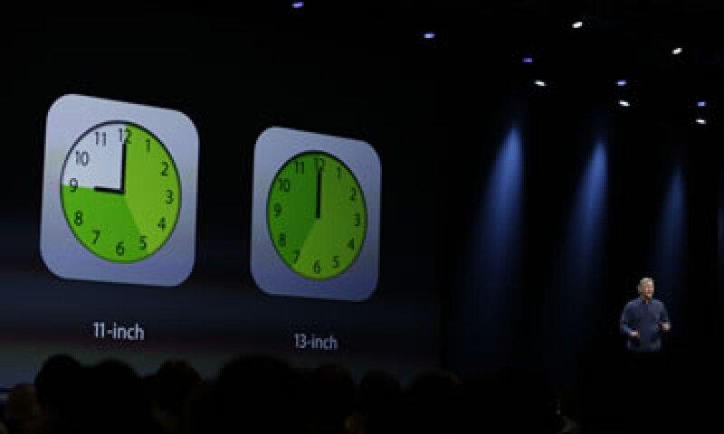 Recientemente Apple registró la marca iWatch ante el IMPI en México  (Foto:AP)