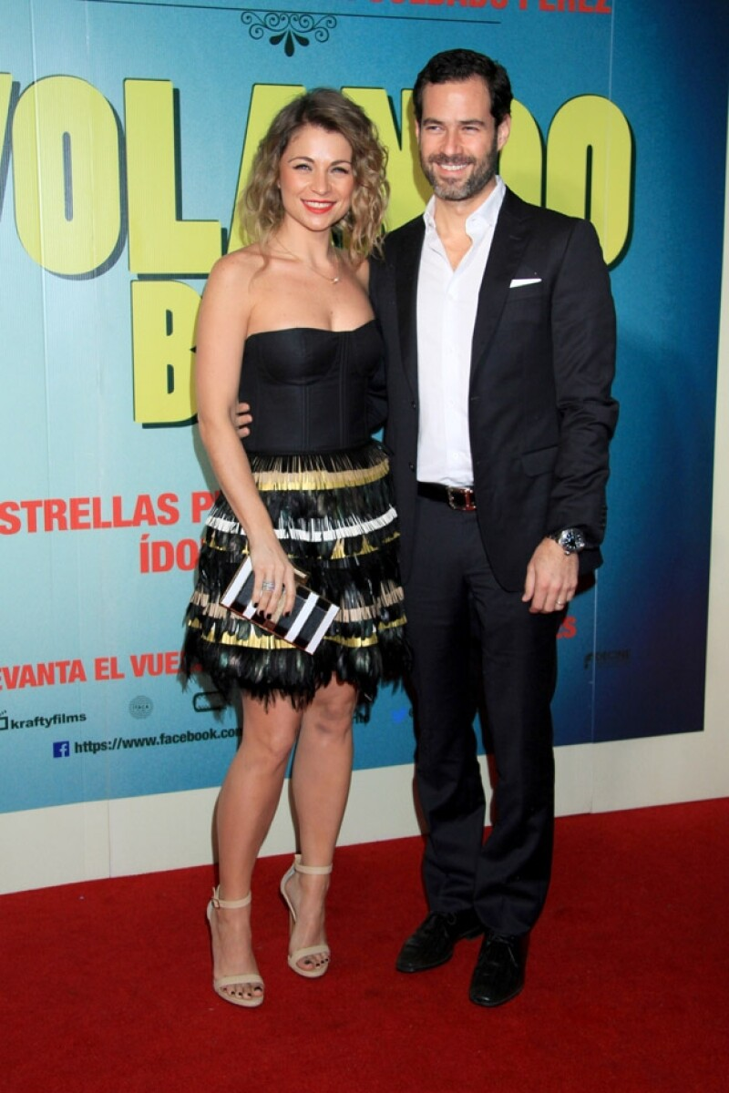 Ludwika y Emiliano se casaron en abril del año pasado en una boda espectacular.