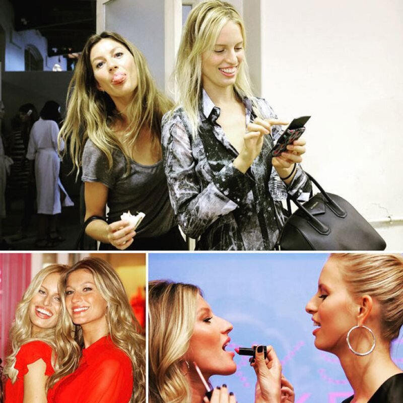 Karolina y Gisele compartieron en más de una ocasión la pasarela de Victoria Secret.