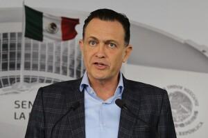 Mauricio Kuri es coordinador del PAN en el Senado. El grupo parlamentario es la segunda fuerza política con 24 legisladores.
