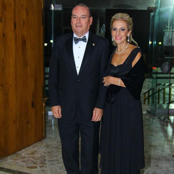 Mariano Gutiérrez y Virgina Llaguno de Gutiérrez