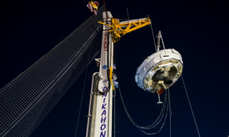 Esta será la nave que la NASA enviará al espacio este miércoles. (Foto: Getty Images )