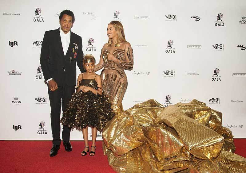 Beyoncé and Blue Ivy matching outfits