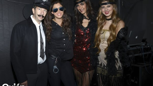 Manuel, Becky, Eva y Jacky Saba