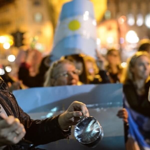 Cacerolazo Argentina