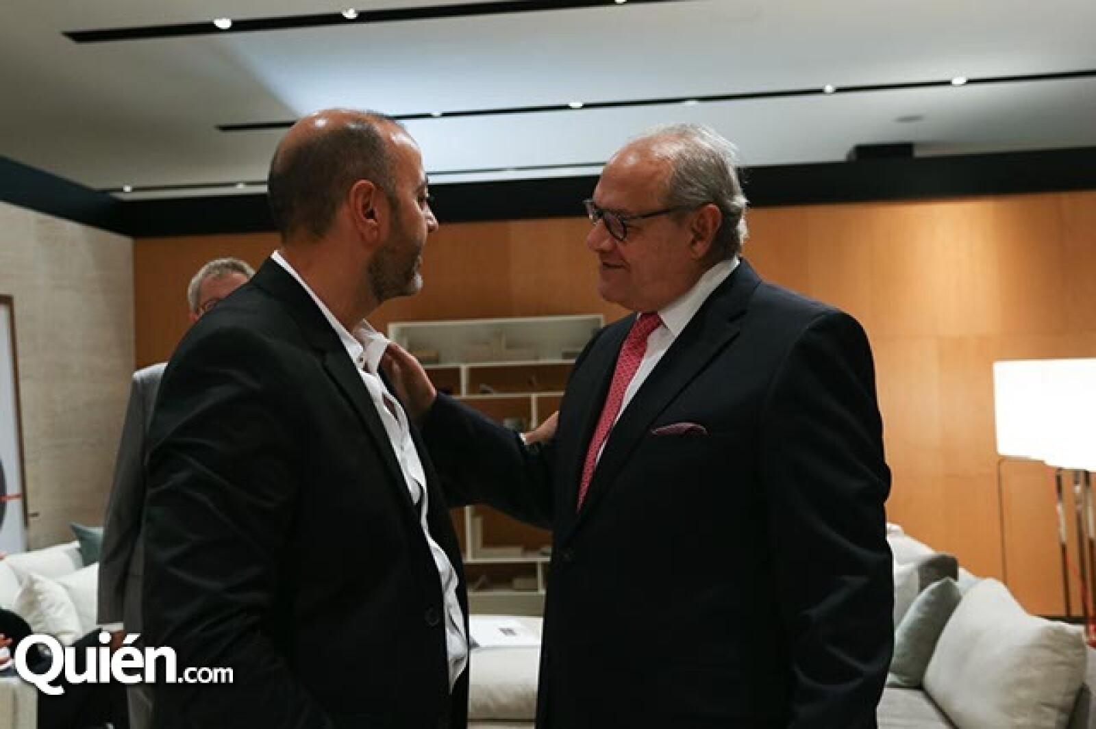 Isaac Metta y Jose Levy