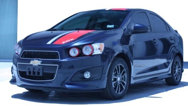 GM ofrece versiones deportivas de los modelos Chevrolet Sonic ZMX y Chevrolet Spark ZMX para atender al mercado joven