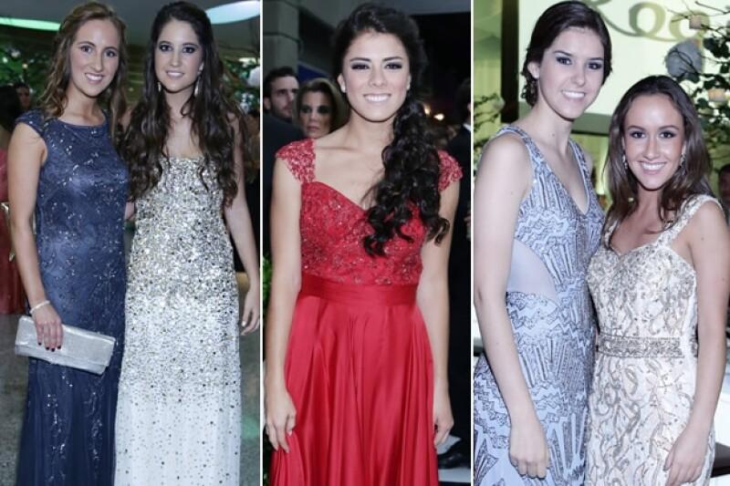 María Díaz, Lucia Iturbide, Paulina Peña, Ana Paula Guerrero y Camila Armida.