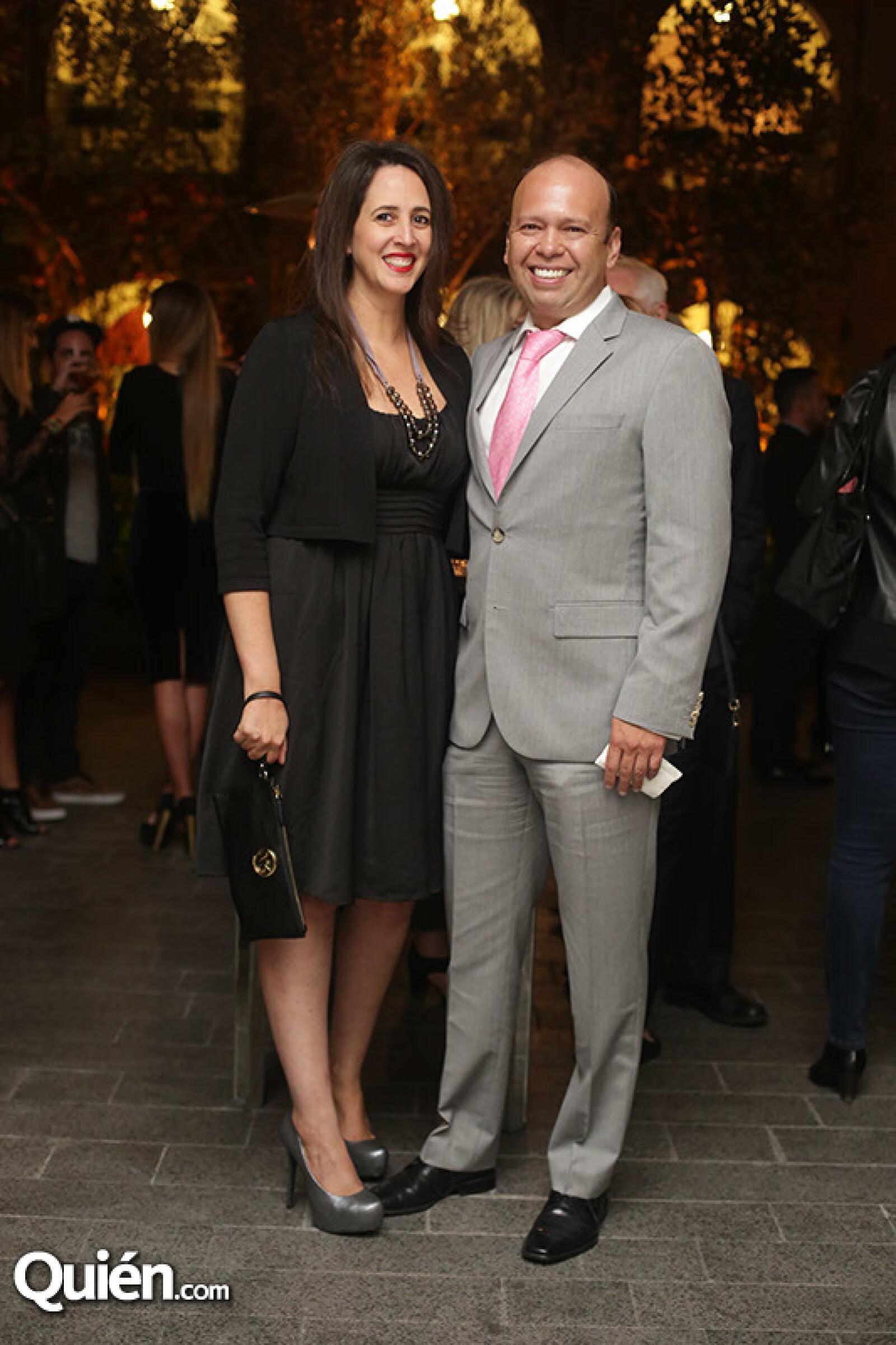 Ana Blanch y Ricardo Sosa