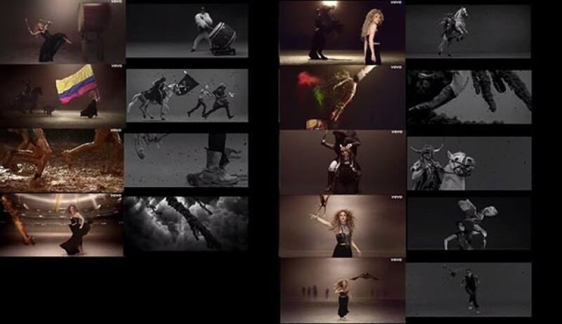 """El músico frances Woodkid compartió un comparativo entre su video del tema """"Iron"""" y """"La La La"""" de la colombiana en el que hay escenas similares, ¿plagio, inspiración o coincidencia?"""