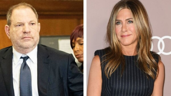 Harvey Weinstein y Jennifer Aniston